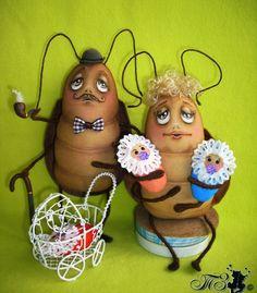 Сказки у камина...: Из жизни тараканов.