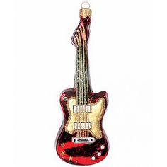 Christbaumschmuck Elektrische Gitarre  bei www.gartenschaetze-online.de