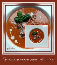 'Tomatencremesuppe mit Hack'