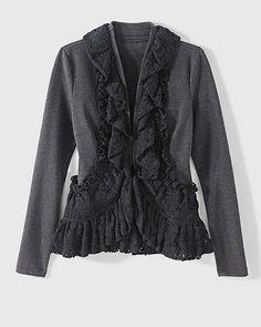 Newport News ruffle jacket