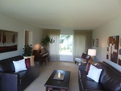 a lovely living room space...staged by Maximum Impact Plus