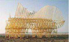 Theo Jansen's Kinetic Sculptures - Lomography