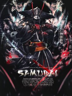 Samurai v1 by AchzatrafScarlet on DeviantArt Gfx Design, Scott Wilson, Samurai, Medieval, Darth Vader, Military, Japanese, Deviantart, Detailed Image