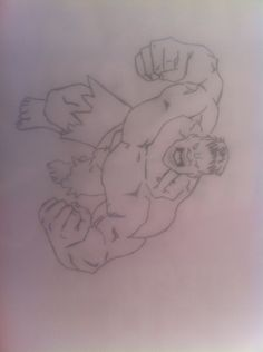 HULK SMASH !! Sorry for the low quality of the picture my phone's camera couldn't focus.