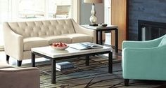 Chloe Velvet Tufted Sofa Living Room Furniture Collection from Macy's $599.00 (33% Off) -
