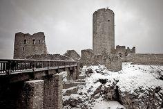 Wolfstein Castle Ruins - Neumarkt id Opf, Bavaria, Germany