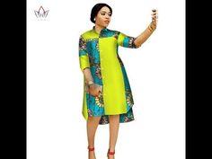 64ea834b68e Kitenge Short Dresses  Latest 2018 Beautiful and Stylish  Kitenge ...