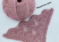 Lace Patterns, Baby Knitting Patterns, Lace Knitting, Crochet Shawl, Crochet Stitches, Crochet Patterns, Crochet Collar Pattern, Crochet Home, Sewing Techniques