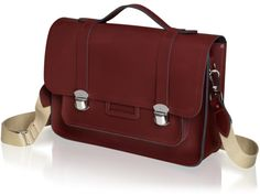 The Medium Expedition Satchel in Oxblood | The Cambridge Satchel Company