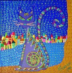 Cat by Mimi Revencu