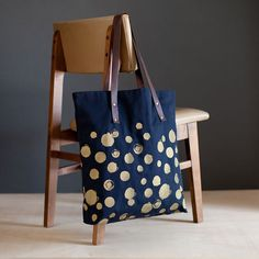 This oversize canvas tote holds just about everything - laptop, wallet, phone, yoga mat - you name it. Two large front pockets and a small internal