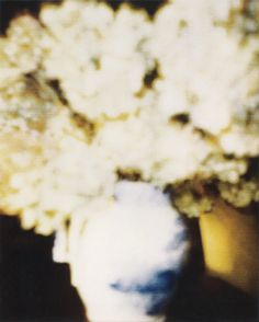 Cy Twombly, Flowers, taken at Bassano in Teverina in 1980.