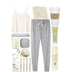 """Sleeping in...zzzzzz"" by prettyorchid22 on Polyvore"