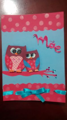 Owls gift card for mommy