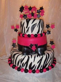 Girl Birthday Cake 1
