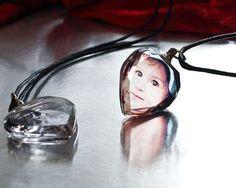 Ciondolo cristallo cuore