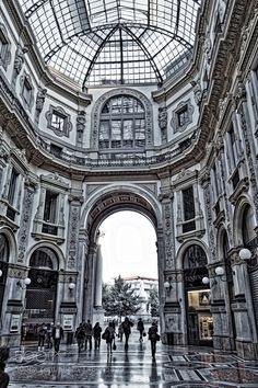 Milano galleria by giorgiopasini. Please Like http://fb.me/go4photos and Follow @go4fotos Thank You. :-)
