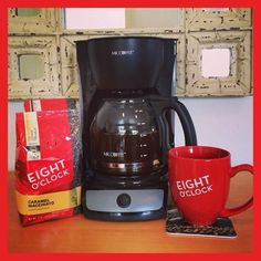 Who woke up on the right side of the coffee maker?