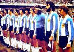 EQUIPOS DE FÚTBOL: SELECCIÓN DE ARGENTINA 1976-77