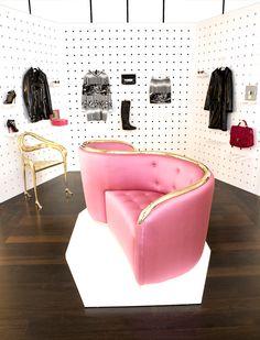 Pop-up Gala's Dressing Room at Santa Eulalia store. Passeig de Gràcia 93, Barcelona