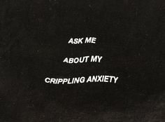 Ask me about my crippling anxiety T shirt anti social social club vaporwave…