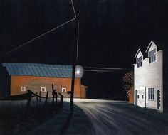 """""""Bright Light at Russell's Corners"""" by George Ault"""