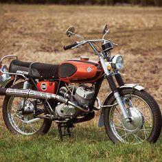 Language Barrier: The 1971 Bridgestone Mach II SS - Classic Japanese Motorcycles - Motorcycle Classics