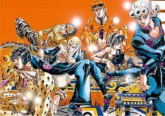 JoJo's Bizarre Adventure Part Vento Aureo Jojo's Bizarre Adventure Anime, Jojo Bizzare Adventure, Manga Art, Manga Anime, Anime Art, Aerosmith, Fanart, Jojo Parts, Arte Cyberpunk