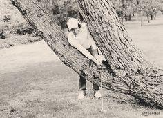 Harry golfing <3