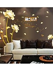 Wall Stickers Wall Decals, Style Flowers PVC Wall Stickers