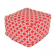 Large Printed Indoor Ottoman