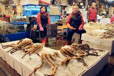 10 Amazing Things To Do In Seoul, South Korea: Fish Market © Sabrina Iovino | JustOneWayTicket.com