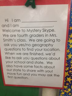 Mystery skype introduction