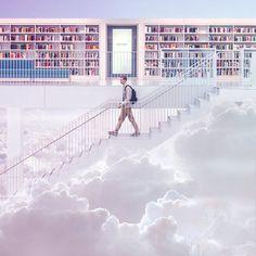 """Bookstore in the sky"""