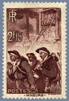 Francia 1938 - Mineros