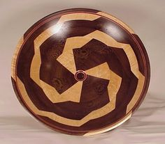 wood turning | An advantage of segmented woodturnings over turning solid wood is that ...