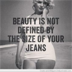 Every now and then you need to be reminded...your more beautiful on the inside than the outside!!