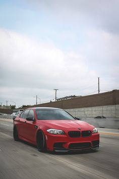 BMW F10 | M5 | BMW | M series | red cars | BMW photos