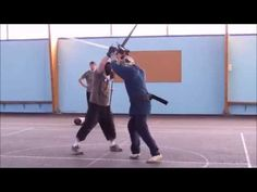 Longsword 33 Longsword sparring at the club some free play