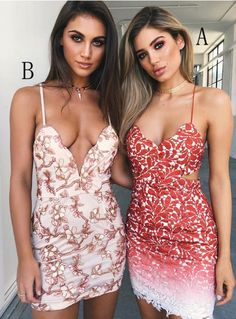 Custom Made Splendid Party Dresses Red Sheath Spaghetti Straps Short Red Lace Homecoming Cocktail Dress Lace Party Dresses, Party Dresses For Women, Lace Dress, Evening Dresses, Dress Red, Red Homecoming Dresses, Hoco Dresses, Sexy Dresses, Denim Dresses