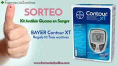 Farmacia2online te invita a participar en el sorteo de un kit de análisis de glucosa de Bayer