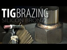 """Never TIG brazed a day in my life; Join me as I probably do a ton of stuff wrong! Music: """"Danzon De Pasion"""" - Jimmy Fontanez/Media R. Welding Cart, Welding Tips, Mig Welding, Welding Projects, Projects To Try, Tig Welder, Metal Workshop, Brazing, Air Brush Painting"""