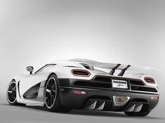 The Koenigsegg Agera, known for its 940hp 5.0-liter twin-turbocharged V8 engine, is one seriously powerful hypercar.