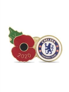 Show your support for both your team and troops with this Chelsea Poppy Football Pin. All profits benefit the work of The Royal British Legion. #Chelsea #ChelseaFC #ChelseaFootballClub #PremierLeague #StamfordBridge #Poppyappeal