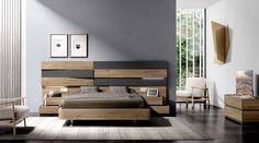 MUEBLES MUÑOZ - dormitorios actuales CATALOGO 5 Camas King, Bedroom Bed Design, Urban Furniture, Sweet Home, Villa, Bed Room, Home Decor, Mirror, Modern Bedroom Furniture