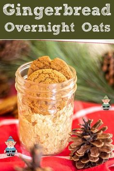 Make these fast and easy gingerbread overnight oats in under 5 minutes for a week's worth of breakfasts that taste like the holidays. WW 3 Purple, 8 Blue, 8 Green, Vegetarian