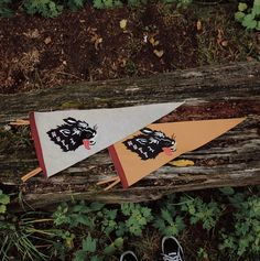The #StrayMutt Pennants along with the rest of the first delivery from AW15 will be available in the shop and online tomorrow at 11am.