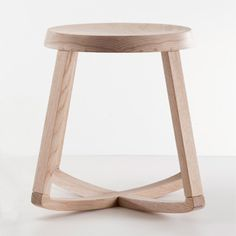 Yiannis Ghikas Monarchy Stool: oak.       Monarchy is a stool, it is a rocking stool.    It rocks sideways and it rocks back and forth. Monarchy also swivels.
