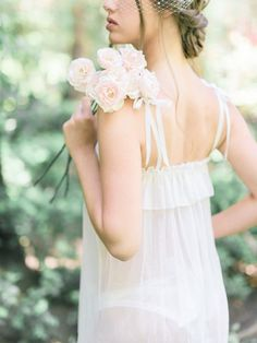 organic, elegant boudoir