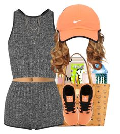 """""""Untitled #245"""" by cupcakegirl1126 ❤ liked on Polyvore featuring Topshop, adidas Originals, Forever 21 and NIKE"""